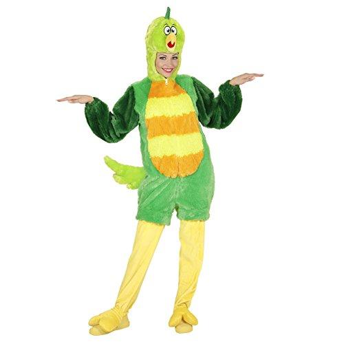 WIDMANN 97161 Erwachsenen Kostüm Vogel, Unisex-Adult, Grün, L