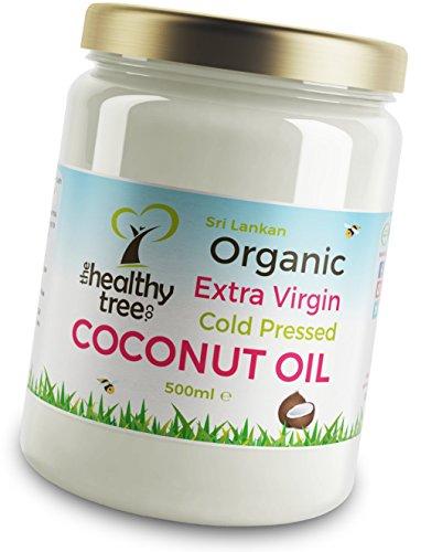 Aceite de coco extra virgen orgánico - Fantástico para cocinar, fabuloso...