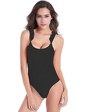 Costume Intero Bikini Costumi Da Bagno Donna Sexy Sottile