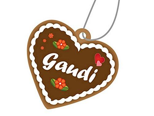 Preisvergleich Produktbild Duftanhänger Lebkuchenanhänger Kuchen Duft Lebkuchen braun Gaudi