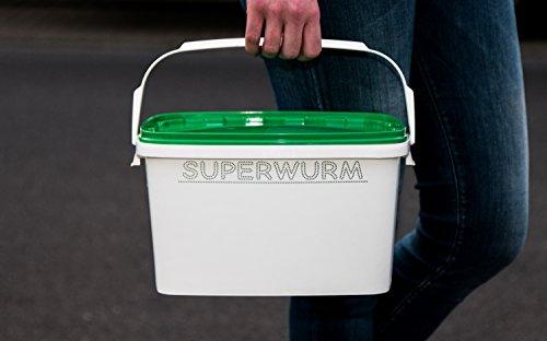 Wurmeimer 6 Liter, Wurmbox
