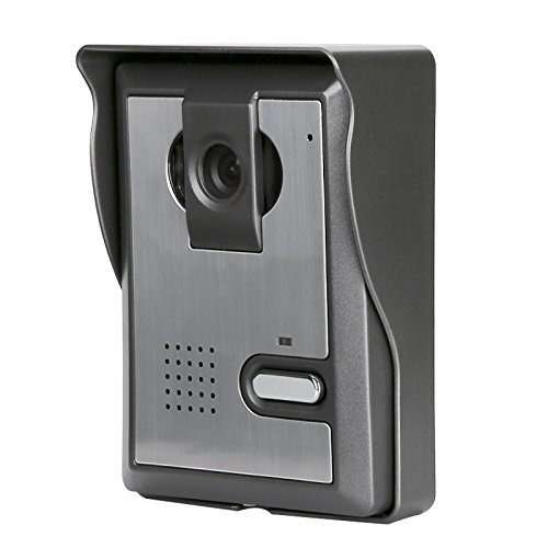 BW Video Door Phone - Night Vision, Weather Proof, 7 Inch LCD Display, Electronic Unlocking, 700TVL Camera