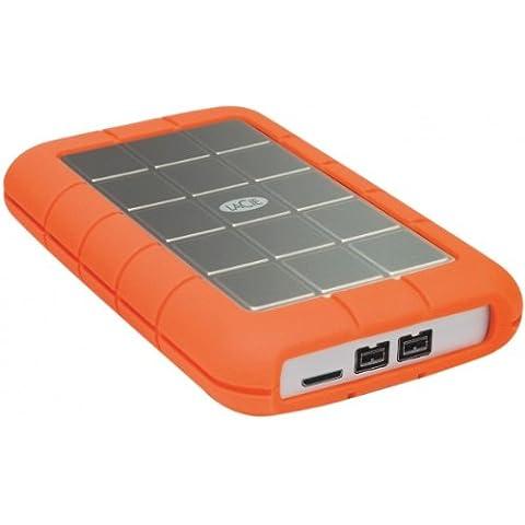 Disco duro externo LaCie Rugged Triple USB3.0FireWire 500GB (7200rpm)