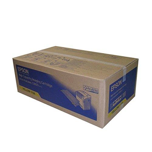 Epson S051124 AcuBrite Toner mit hoher Kapazität für AcuLaser C3800 gelb - Epson Toner Mit Hoher Kapazität