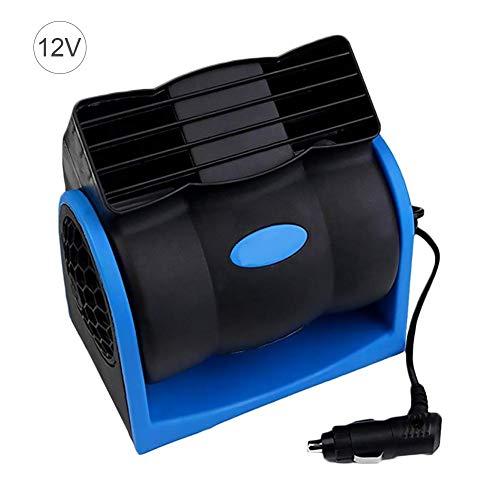 12V 24V Auto-Kühlluftventilator, einstellbare Silent Cooler-Lüfter mit niedrigem Energieverbrauch, Plug-and-Play, geräuscharm, kindersicheres Design
