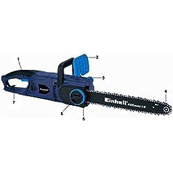 Einhell - Espada para motosierra eléctrica BG-EC 2040 (40 cm) color negro