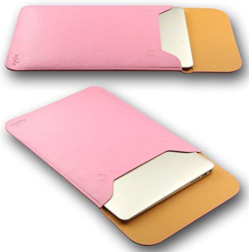 YiJee MacBook Air / Pro Notebooktasche Laptoptasche Hülle Netbook Tasche 13 Zoll Pink