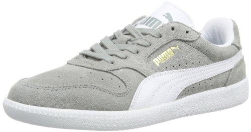 PUMA Icra Trainer 356222 Unisex-Erwachsene Sneaker Grau (limestone gray-white 02)