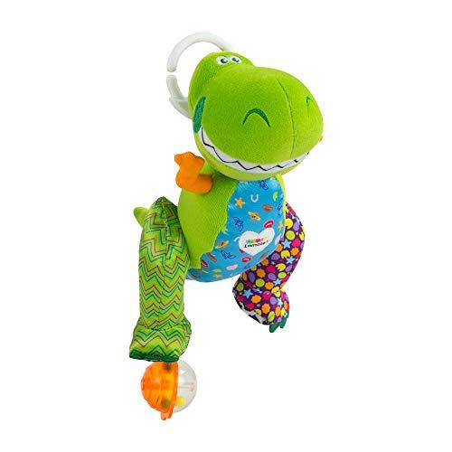 Lamaze TOY STORY Baby Spielzeug Clip & Go Rex - Stoffspielzeug Kleinkindspielzeug - Greifling Anhänger zur Stärkung der Eltern-Kind-Beziehung - für Babies und Kleinkinder ab 0+ Monaten (Story Baby Toy Aus)