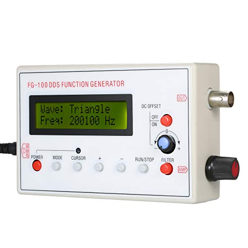 KKmoon 1HZ-500KHZ DDS Funcional Señal Generador Seno