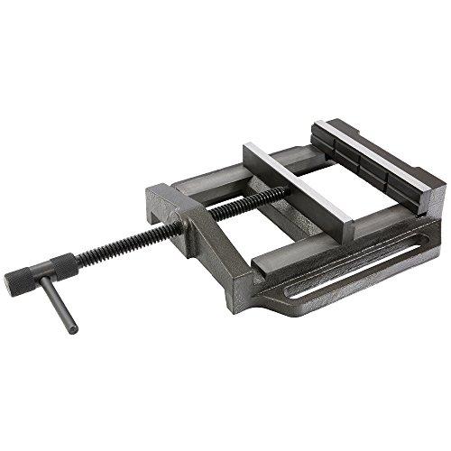 Arebos Maschinenschraubstock / 200 mm Backenbreite