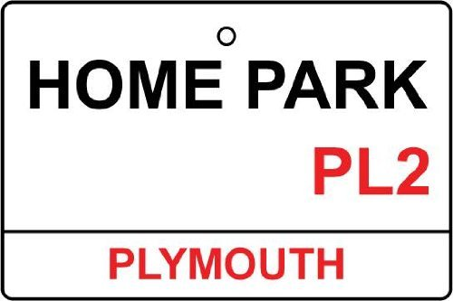 plymouth-argyle-home-park-street-sign-car-air-freshener