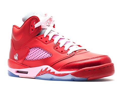 Girls AIR Jordan 5 Retro GS 'Valentines Day' - 440892-605, gebraucht gebraucht kaufen  Wird an jeden Ort in Deutschland