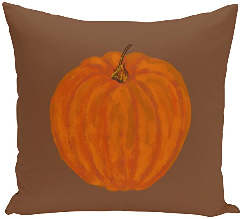 E von Design o5phn331br4–1640,6x 40,6cm Li 'l Kürbis Urlaub Print orange Outdoor ()