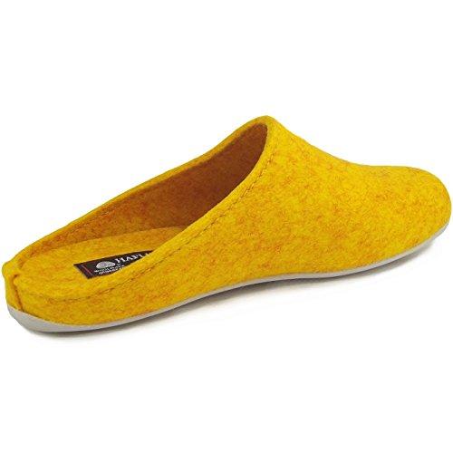 Haflinger Everest Fundus 481024 Pantofole unisex Gelb