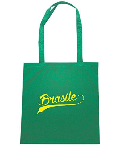 T-Shirtshock - Borsa Shopping WC0043 BRAZIL BRSILE Verde