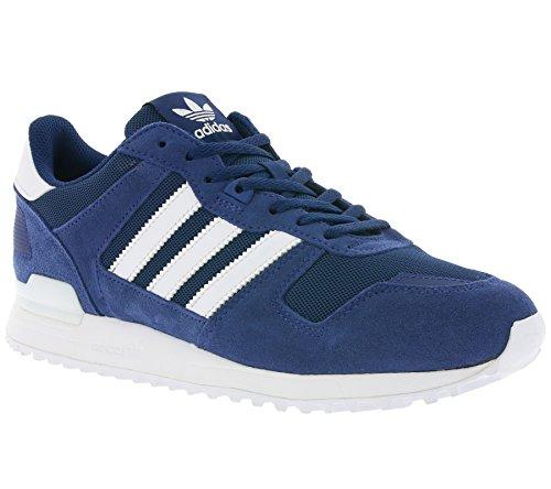 Adidas Zx 700, Sneaker Basses Homme Bleu (Mystery Blue/footwear White/Mystery Blue)