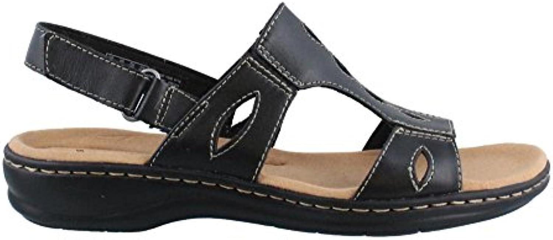 clarks femmes lakelyn leisa carton carton carton sandale, cuir noir, us 6 w b01iapmxba parent 0df1fd