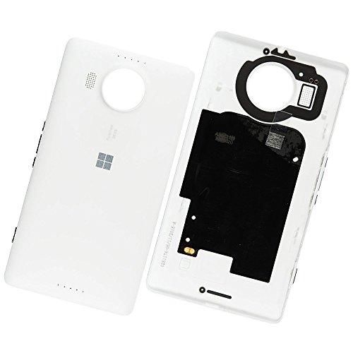 Microsoft Lumia 950 XL / Dual Sim Original Akkudeckel Weiss Battery Cover White Akkufachdeckel Deckel Klappe