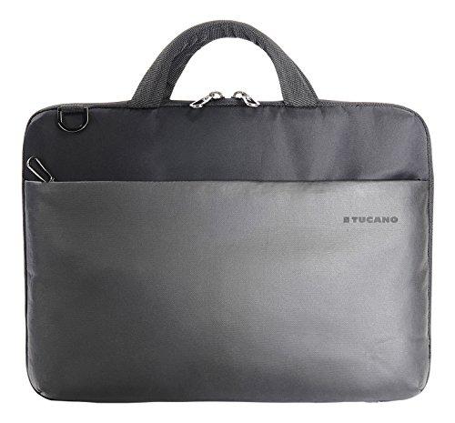 Tucano BDA-MB1213 Dark Slim Tasche für MacBook 12/13 Zoll, Air/Pro/Retina, Apple iPad Pro 12,9 Zoll schwarz (Rv-band-fall)