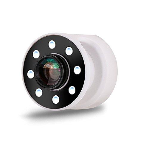 NEWELL Selfie Ring Licht, USB Aufladbare Tragbare Selbstauslöser Wiederaufladbare Lampe, Geeignet Für Iphone/Android Smartphone Fotografie, Kamera Video, Handy Flash SLR Objektive 05,White