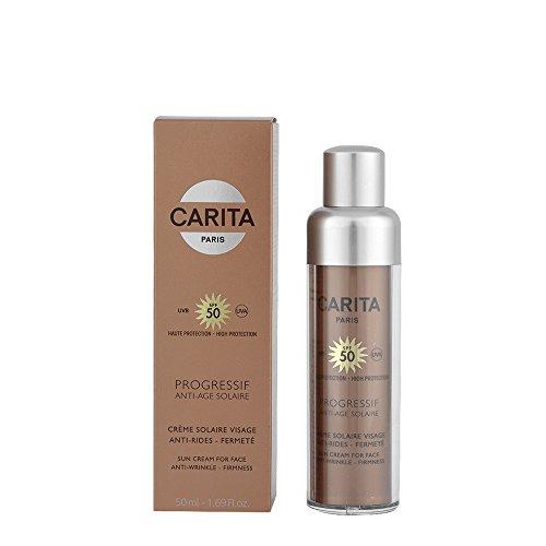 Carita Gesichts-Sonnencreme Progressif Anti Age 50 SPF 50.0 ml, Preis/100 ml: 177.98 EUR