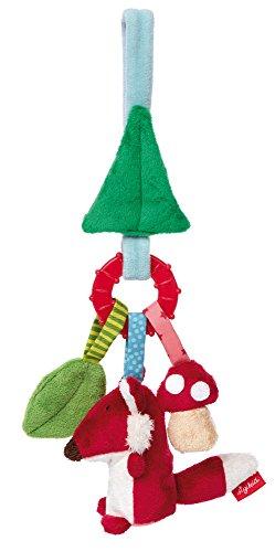 Sigikid Mädchen und Jungen, Aktiv-Anhänger Wald, PlayQ Wuller Wullawoods, Lern und Experimentierspielzeug, Bunt, 41505