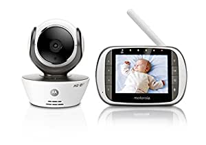 Motorola MBP853 Connect Wi-Fi HD Video Baby Monitor