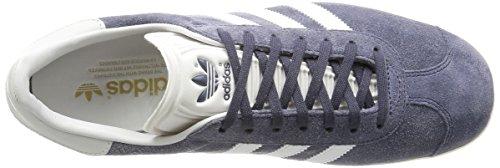 adidas - Gazelle, Scarpe da Ginnastica Unisex Adulto Grigio (Nemesis/Vintage White/Gold Met.)