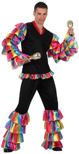 Rumba Tänzer-Kostüm für Herren M / L (Rumba Kostüm)