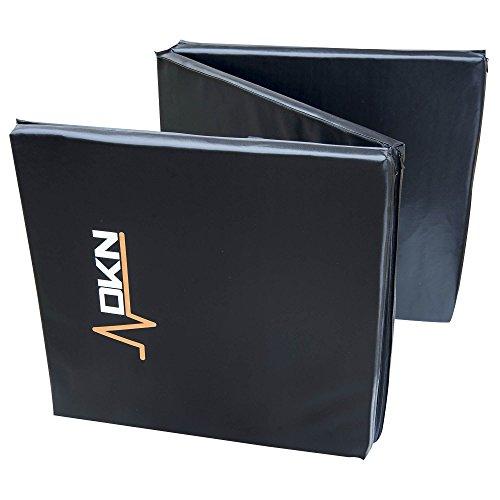 DKN - Materassino per allenamento, a 3 sezioni, con maniglie