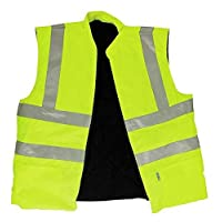 Supertouch 35242 HV Vest Yellow, Hi Vis, Medium