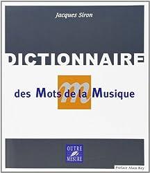 Dictionnaire des mots de la musique