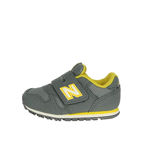 New Balance 373 Sneaker Bambini KV373RTI Grey Yellow (27.5 EU)