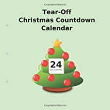Tear-Off Christmas Countdown Calendar