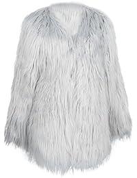Amazon.it  Imperial - Grigio   Giacche e cappotti   Donna  Abbigliamento 68ce9e5f2760