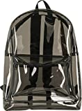 Urban Classics - Zaino trasparente, 50 cm, 1,6 litri, colore: nero trasparente