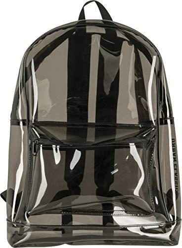 Urban Classics Transparent Backpack Rucksack, 50 cm, 1,6 Liter, TransparentBlack