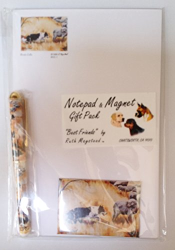 Border Collie cane set regalo da Ruth maystead
