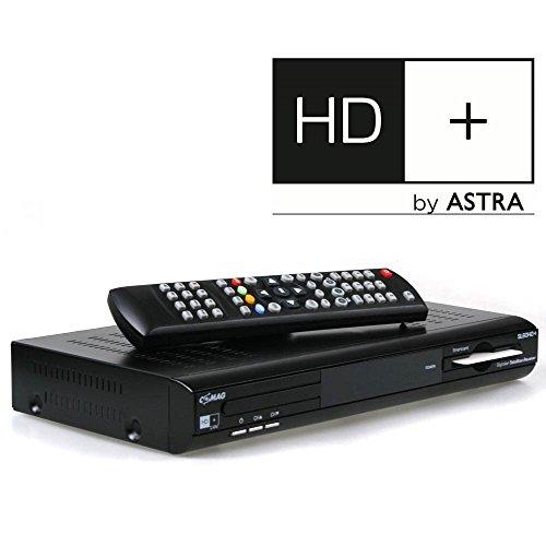 COMAG SL60 HD+ Basic HDTV Satelliten-Receiver (HD+, HDMI, SCART, USB, inkl. HD+ Karte) schwarz
