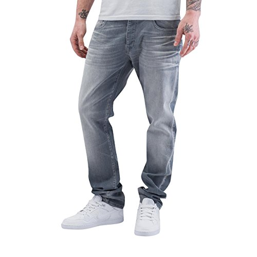 Petrol Industries Homme Jeans / Jeans Straight Fit Turner Gris