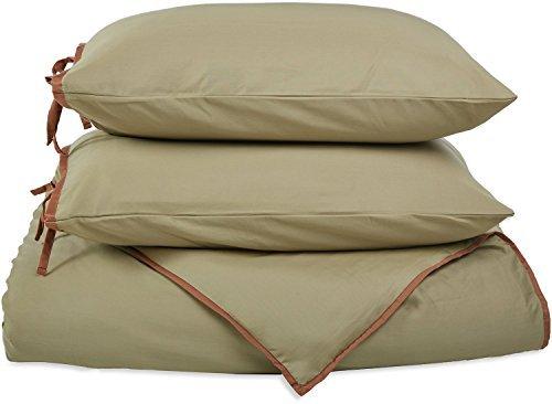 Superior 100/% Premium Combed Cotton 2-Piece Duvet Cover Set Twin Soft Single Ply Sateen Solid Plum Luxor Treasures 400TWDC SLPL