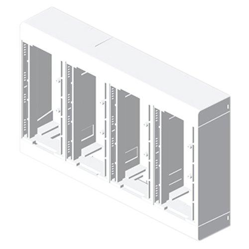 Unex 85043–2U24X Box für 8Mechanismen, weiß
