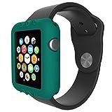 Gaddrt Ultra-Slim gel de silice mignon protéger housse pour Apple Watch série 1 42 mm (Vert)