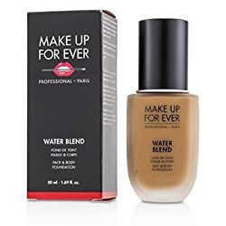 Make Up For Ever Water Blend Face & Body Foundation -  Y445 (Amber) 50ml/1.7oz