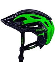 O'Neal Orbiter II Casco de Bicicleta, Negro / Verde, XL/XXL (61-64 cm)