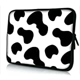 "Laptoptasche Notebooktasche 15"" - 15.6"" zoll Fall Neopren für Notebooks Dell HP Macbook Samsung Apple Toshiba*Cow*"