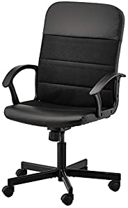 Height adjustable office chair B090 - Black