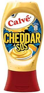 Calve Cheddar Sos 240G