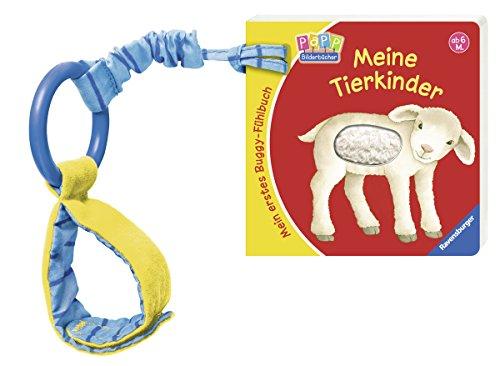 Preisvergleich Produktbild Mein erstes Buggy-Fühlbuch: Meine Tierkinder